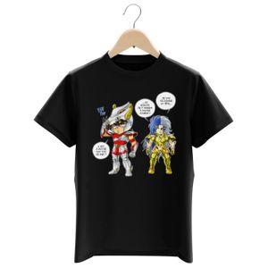 T-SHIRT T-shirt Enfant garçon Manga - Parodie Saint Seiya