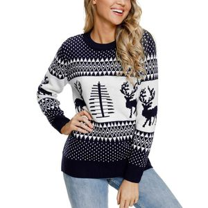 35d4df794ce6 PULL Pull Femme Chandail Tricot Col Rond Manches Longue