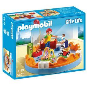 ASSEMBLAGE CONSTRUCTION Playmobil 5570 - Jeu De Construction - Espace Crèc