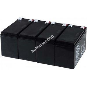 BATTERIE VÉHICULE Batterie gel-plomb Powery pour USV APC RBC 25 1...