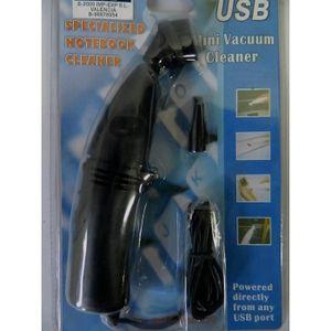 NETTOYAGE TV-VIDEO-SON mini Aspirateur led noir clavier USB Pc nettoyage
