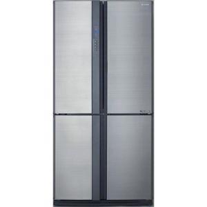 RÉFRIGÉRATEUR CLASSIQUE SHARP SJEX820FSL - Réfrigérateur 4 portes INOX