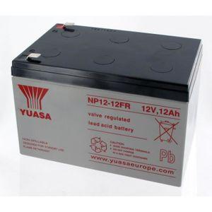 BATTERIE DOMOTIQUE Batterie Plomb Yuasa 12V 12Ah NP12-12FR