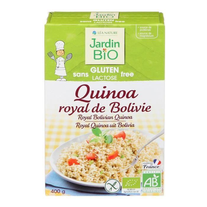 JARDIN BIO Quinoa royal de Bolivie bio - 400 g