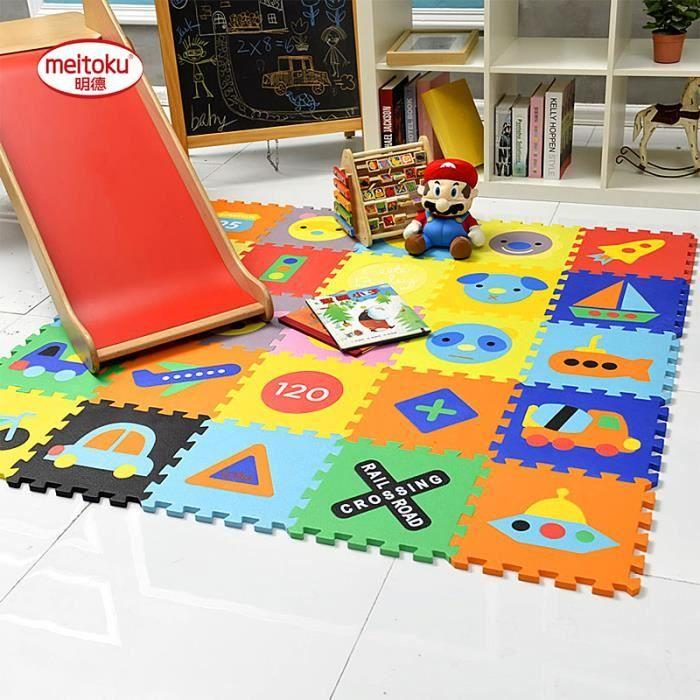 eva play puzzle tapis de sol jouets enfants carreaux interchangeables tapis pour enfants et. Black Bedroom Furniture Sets. Home Design Ideas