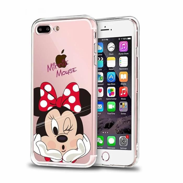 coque transparente iphone 7 plus silicone