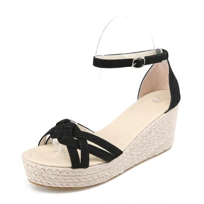 Sandales Les Des Femmes Chaussures Pour Talons Compensés Espadrille shtCrdxBQ