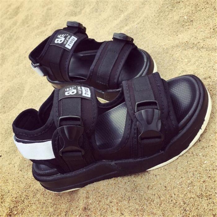 Sandales Hommes Marque De Luxe Mode Meilleure Durable Plage Classique Nouvelle été Super Homme Sandales Grande Taille Chaussures
