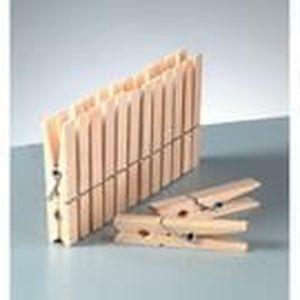 pince a linge en bois achat vente pince a linge en bois pas cher cdiscount. Black Bedroom Furniture Sets. Home Design Ideas