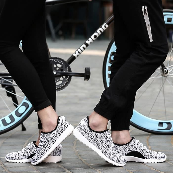 Flyknit chaussures couple Chaussures de Sports ...