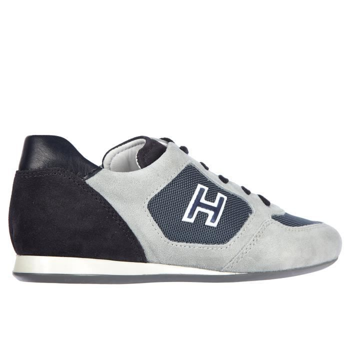 Chaussures baskets sneakers enfant camoscio olympia x Hogan