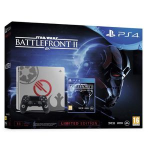 CONSOLE PS4 Nouvelle PS4 1 To Star Wars Battlefront II Edition