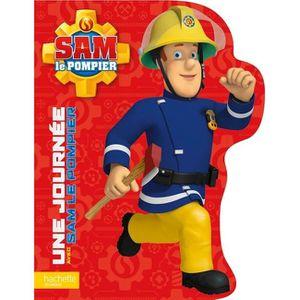 Livre 3-6 ANS Une journée avec Sam le pompier