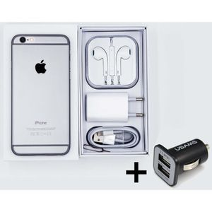 SMARTPHONE iPhone 6 64 Go - Gris sidéral + 1 chargeur voiture