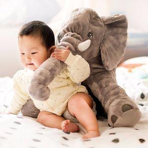 elephant peluche oreiller achat vente jeux et jouets pas chers. Black Bedroom Furniture Sets. Home Design Ideas