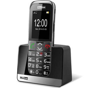 Téléphone portable Téléphone Portable Senior MM720BB Débloqué - Noir