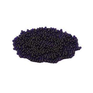 BILLES - PERLES DÉCO Hicollie® 1000Pcs Violet Coloré Billes Perles Cris