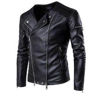 more photos 72bd3 24c62 veste-homme-marque-luxe-en-faux-cuir-zipper-veste.jpg