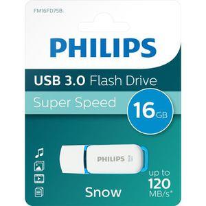 CLÉ USB PHILIPS - Clé USB - Snow - 16 Go - USB 3.0
