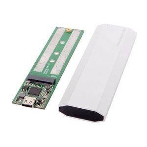 DISQUE DUR SSD Boîtier Nvme Pcie M.2 Ssd À Usb 3.1 Type C Gen2 -