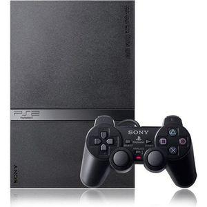 CONSOLE PS2 Console PS2 SLIM Noire + carte mémoire