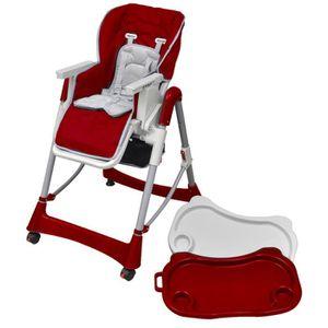 CHAISE HAUTE  Cette chaise haute réhausseur de bébé est conçu po
