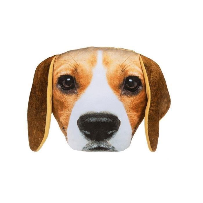 Coussin déco CUSHION Beagle en polyester - 30cm