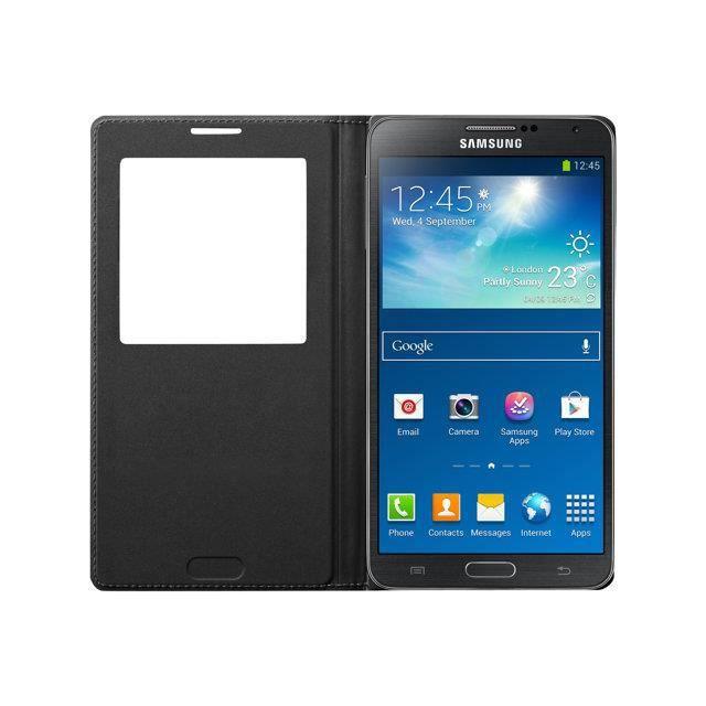 SAMSUNG Etui à rabat EF-WN900BW pour Samsung Galaxy Note 3 - Blanc