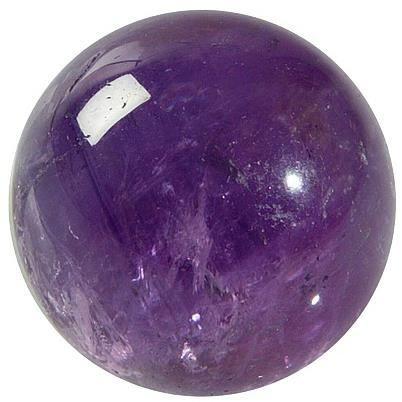 Sphere Amethyste 40 mm - La piece