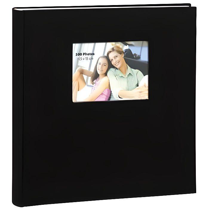 Album photo erica prestige square noir 500 photos, à pochette 11,5x15 97c035f9f933