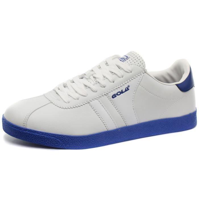 Neuf: Gola Amhurst Homme Baskets / Sneakers, blanc-Bleu, Pointure 42
