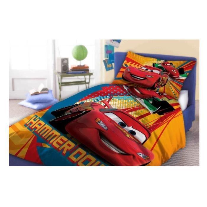 cars flash mcqueen linge parure de lit housse de couette. Black Bedroom Furniture Sets. Home Design Ideas