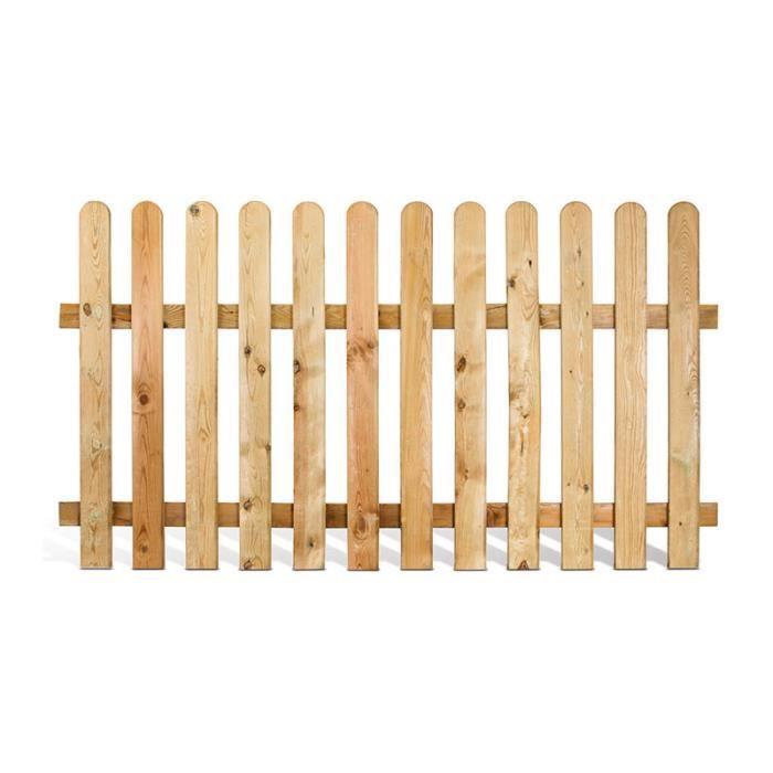 Cloture en bois achat vente cloture en bois pas cher cdiscount - Achat de bois en ligne ...