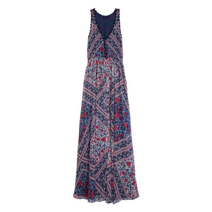 da5c49aebc61a Vêtements femme Robes Pepe Jeans Kelli Blanc Multicouleur - Achat ...