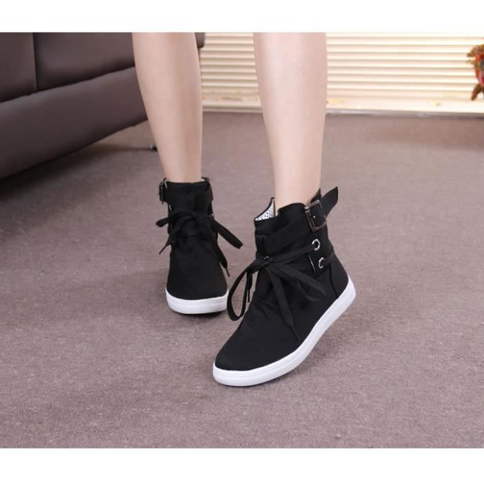 Botte Femme Hiver Sexy Mode Confortable bottines BGD-XZ015Marron36 OFGbe