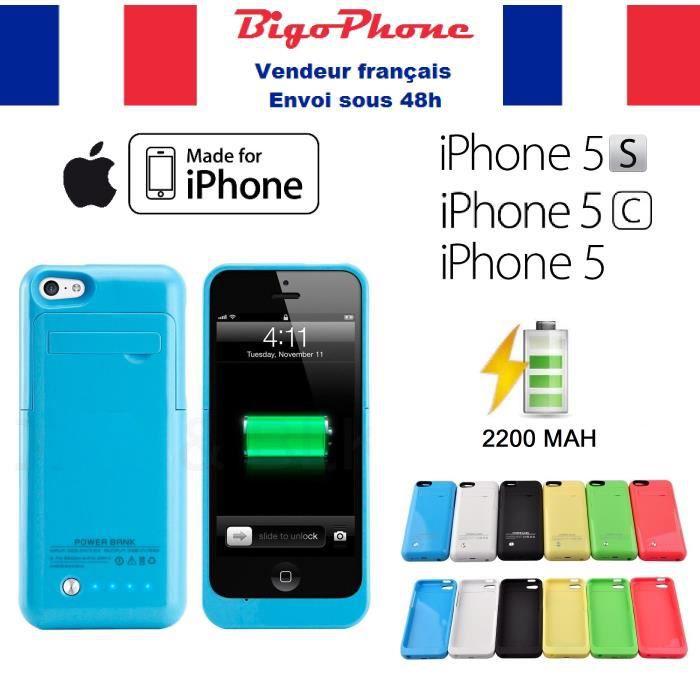 batterie externe coque iphone 5