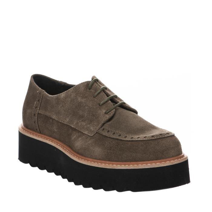 Chaussures à lacet femme - 2KdWcLqjB4A - Kaki - ZICO - Millim nUDP8mHurt