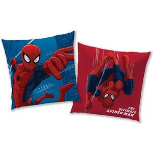 COUSSIN Coussin 100% polyester SPIDERMAN TOWER 40x40cm