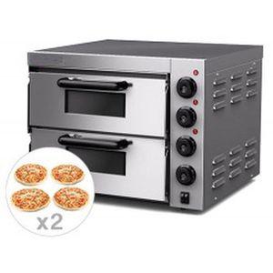 FOUR À PIZZA EQUIPEMENTPRO - FOUR À PIZZAS PROFESSIONNEL - 2 CH
