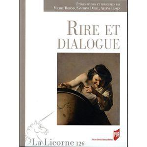 AUTRE LANGUE ÉTRANGÈRE Livre - REVUE LA LICORNE ; rire et dialogue