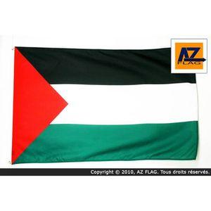 DRAPEAU - BANDEROLE Drapeau Palestine 250x150cm - palestinien Haute qu