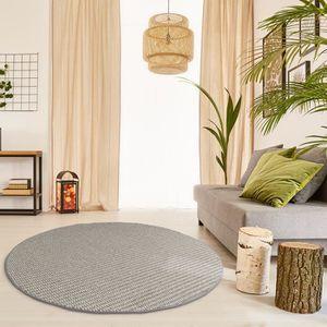 tapis prime tapis de boucle matterhorn rond couleur s - Tapis Chambre Adulte
