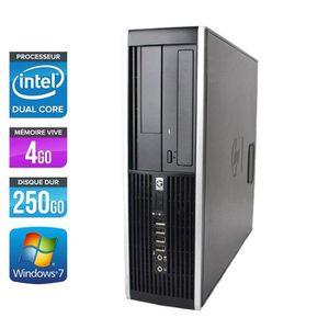 UNITÉ CENTRALE  HP Elite 8300 SFF -Intel G870 3.1GHz - 4Go - 250Go