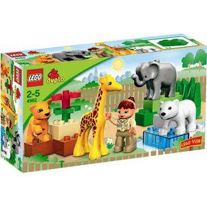 ASSEMBLAGE CONSTRUCTION LEGO® DUPLO 4962 Le Zoo des Bébés Animaux
