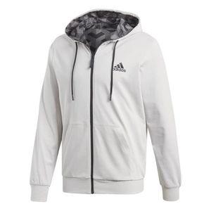 5b79466265 Veste à capuche adidas Sport ID Reversible Rose mat - Achat / Vente ...