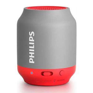 ENCEINTE NOMADE PHILIPS BT50G Enceinte portable Bluetooth Grise et