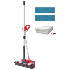 NETTOYEUR VAPEUR POLTI Moppy Extra Dust Balai vapeur sans fil multi