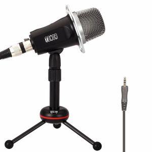 MICROPHONE TONOR 3,5 mm Jack Microphone à Condensateur Profes