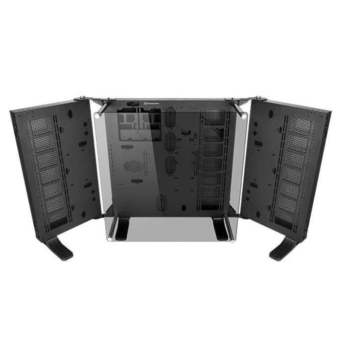 THERMALTAKE Boitier PC Sans Alimentation Core P7 TG - Moyen Tour - Modulaire - Fenêtre - Verre Trempé - Noir