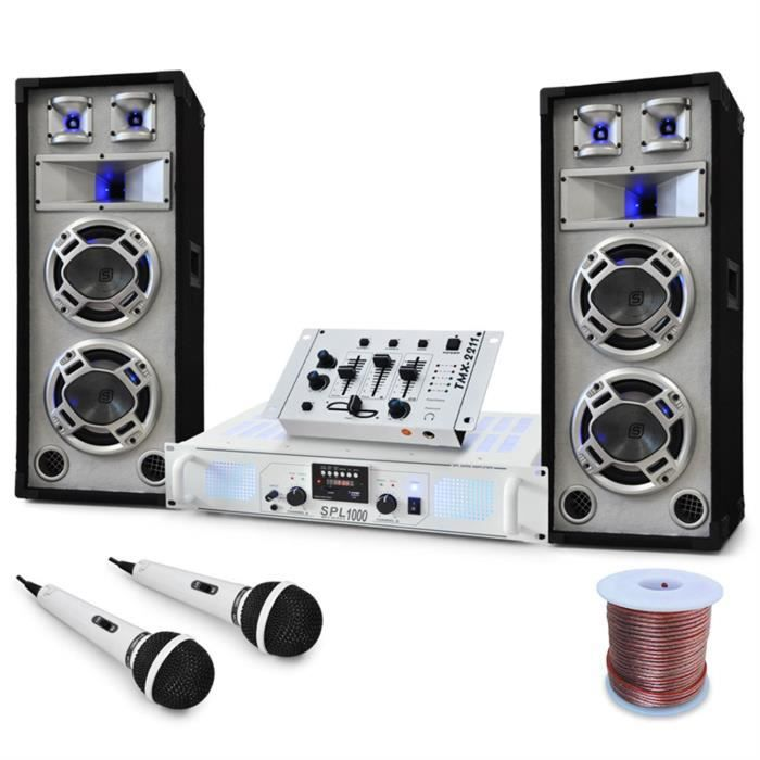 """PACK SONO Electronic-Star Pack sono pro """"Polar Bear"""" : table"""